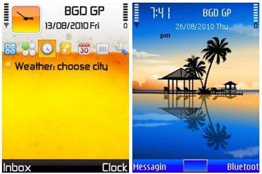 ۲ تم برای سیمبین سری ۶۰ ورژن ۵ و ۳ – تم موبایل