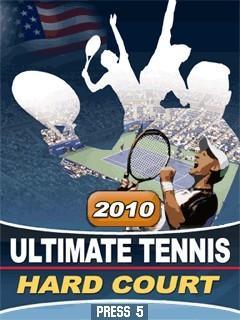 بازی موبایل ۲۰۱۰ Ultimate Tennis:Hard Court به صورت جاوا