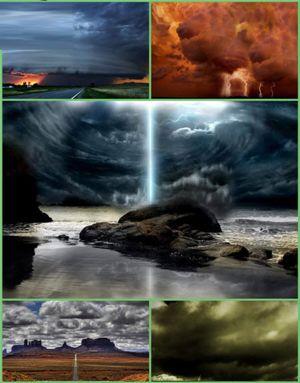 تصاویر پس زمینه از مناظر طوفانی