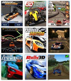 مجموعه ۱۰ بازی ماشین رانی با فرمت جاوا