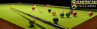 بازی بیلیارد برای موبایل ۳D Ultimate American Billiards – بازی جاوا