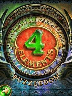 بازی ۴ Elements – Puzzledom به صورت جاوا برای موبایل