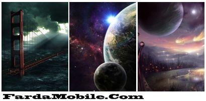 مجموعه پس زمینه های شماره ۵۸ – با موضوع فضا