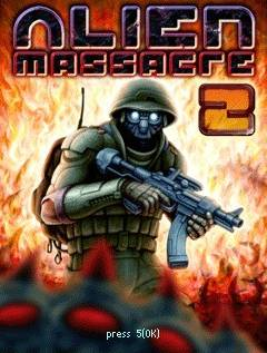 بازی موبایل Alien Massacre 2 به صورت جاوا