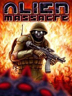 بازی موبایل Alien Massacre برای گوشی های نوکیا و سونی اریکسون