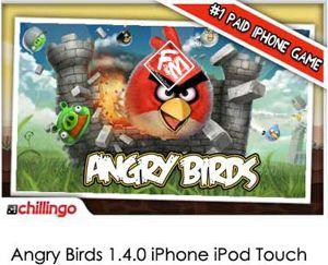 Angry Birds 1.4.0 iPhone iPod Touch – بازی پرندگان عصبانی برای آیفون