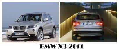 مجموعه پس زمینه های BMW X3 2011 – عکس سایز بزرگ