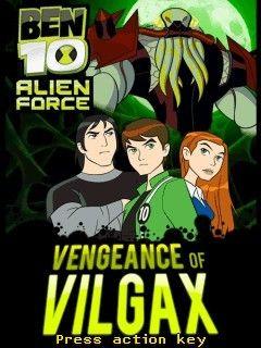 بازی موبایل جدید Ben 10 IV : Revange of the Vilgax به صورت جاوا