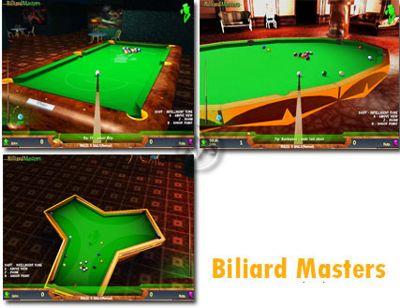 تجربه بیلیارد در بازی Billiard Masters – بازی رایانه