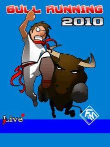 بازی موبایل Bull Running 2010 به صورت جاوا