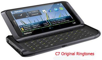 مجموعه زنگ های فابریک گوشی موبایل نوکیا C7 -زنگ موبایل