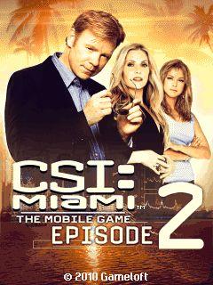 بازی زیبای CSI: Miami 2 به صورت جاوا برای موبایل