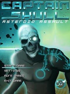 بازی موبایل Captain Skull  به صورت جاوا – بازی ۳۲۰×۲۴۰
