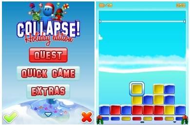 بازی جدید و فکری جذاب گرافیکی COLLAPSE!: Holiday Edition – جاوا