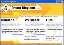 Create Ringtone v5.0.1.0ابزاری برای ساخت زنگ گوشی تلفن همراه