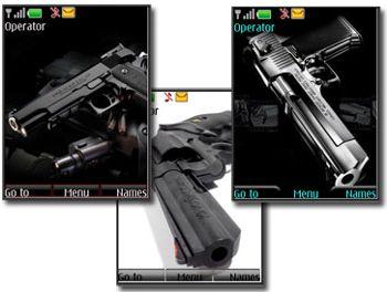 تم نوکیا سری ۴۰ – تم با موضوع اسلحه – تم نوکیا