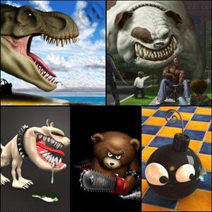 تصاویر بسیار زیبا و سه بعدی در Humor 3D Wallpapers – گالری عکس