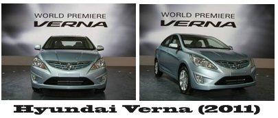 مجموعه عکس های Hyundai Verna 2011