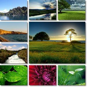 دانلود والپیپرهای فوق العاده زیبا از طبیعت Incredible Nature Wallpapers