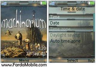 تم موبایل : Machinarium برای گوشی های سونی اریکسون