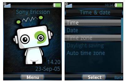 تم موبایل Mascot برای گوشی های سونی اریکسون ۴٫۶