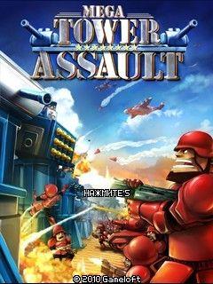 بازی موبایل : Mega Tower Assault – بازی جاوا