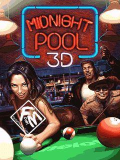 بازی موبایل Midnight Pool 3D به صورت جاوا
