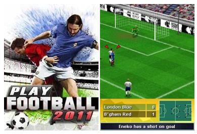 بازی موبایل Play Football 2011 به صورت جاوا
