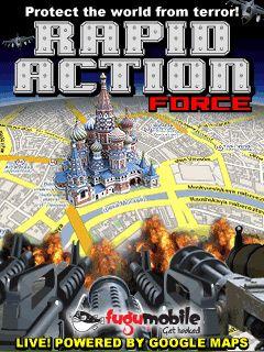 بازی موبایل Rapid Action Force به صورت جاوا – بازی برای موبایل