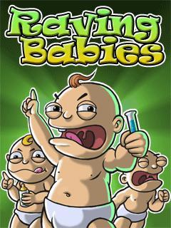 بازی جذاب و زیبا Raving Babies – بازی جاوا