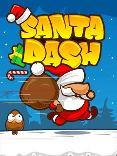 بازی موبایل Santa Dash به صورت جاوا