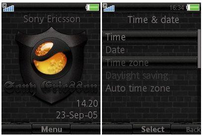 تم موبایل Sel برای سونی اریکسون ورژن ۴٫۷, ۴٫۸