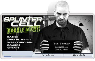 بازی جدید و جذاب Splinter Cell Double Agent – فرمت جاوا