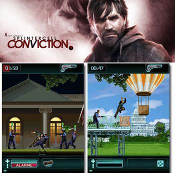 بازی فوق العاده جذاب بنام Splintercell: Conviction تحت جاوا