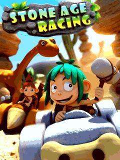 بازی موبایل Stone Age Racing به صورت جاوا برای دانلود