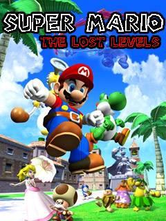 بازی معروف Super Mario: The Lost Levels به صورت جاوا برای موبایل