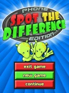 بازی موبایل The Difference Spot – بازی جاوا