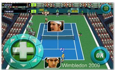 بازی فوق العاده Wimbledon 2009 برای ویندوزموبایل