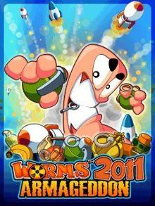 بازی موبایل جدید Worms 2011 Armageddon با فرمت جاوا