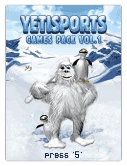 بازی جدید Yetisports Games Pack Volume 1 با فرمت جاوا