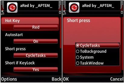 نرم افزار نوکیا سری ۶۰ ویرایش ۳ – aRed v2.5.5 – سوییچ کردن برنامه های در حال اجرا