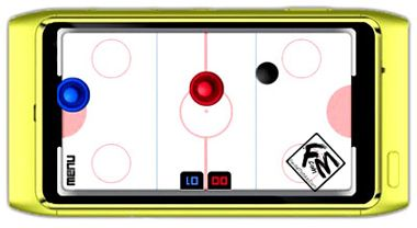 دانلود بازی Air Hockey Challenge Symbian 3 – بازی s60v5