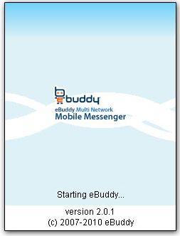 نرم افزار مسنجر eBuddy v2.0.1 J2ME به صورت جاوا
