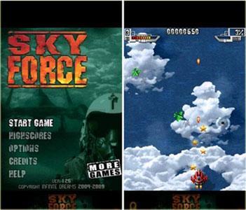 دانلود بازی زیبا و هیجانی Sky Force v1.32 –بازی آندورید