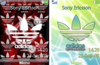 ۲ تم آدیداس Adidas برای گوشی های K850i