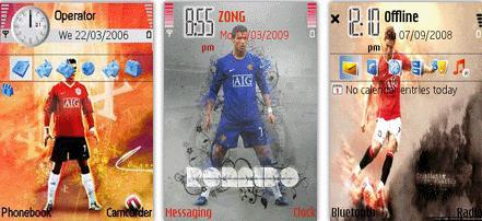 ۳ تم نوکیا از کریستیانو رونالدو برای دانلود  –  تم Cristiano Ronaldo