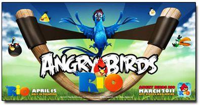 بازی پرندگان عصبانی ورژن جدید Angry Birds Rio v1.2.0  – بازی آیفون