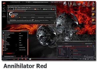 دانلود تم ویندوز سون Annihilator Red Theme for Windows 7 – تم ویندوز