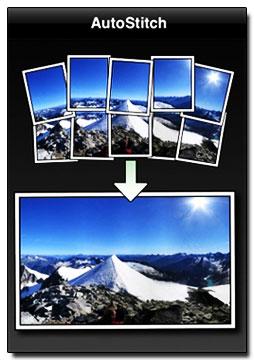 نرم افزار آیفون برای نمایش عکس ها با کیفیت بهتر – AutoStitch Panorama V 3.1