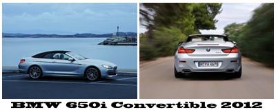 مجموعه تصاویر جدید از BMW 650i Convertible 2012